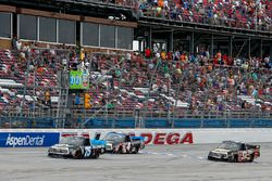Parker Kligerman, Henderson Motorsports Toyota takes the checkered flag