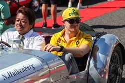 Nico Hulkenberg, Renault Sport F1 Team tijdens de rijdersparade
