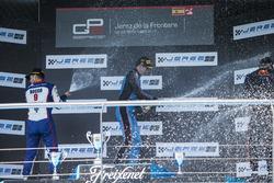 Podium: Alessio Lorandi, Jenzer Motorsport, Dorian Boccolacci, Trident, Niko Kari, Arden Internation