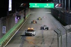 Safety Car voor Lewis Hamilton, Mercedes AMG F1 W08