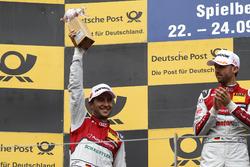 Podium: second place Mike Rockenfeller, Audi Sport Team Phoenix, Audi RS 5 DTM