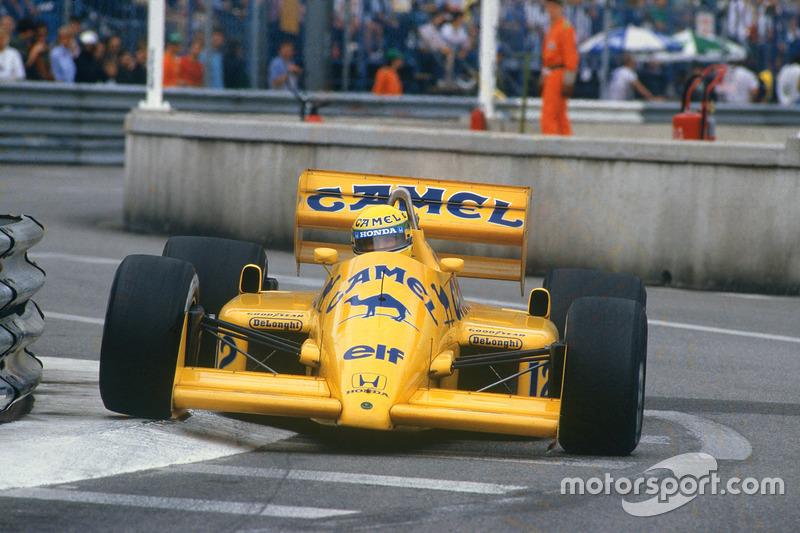 Ayrton Senna - Lotus 99T-Honda - GP de Mónaco 1987