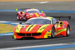 #37 Team BBT Ferrari 488 GT3: Anthony Liu, Davide Rizzo, Alessandro Pier Guidi
