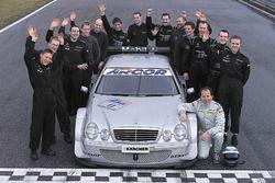 Клаус Людвиг, Mercedes-Benz CLK, HWA AG
