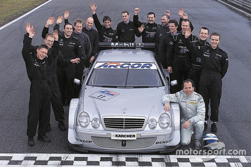 Klaus Ludwig, Mercedes-Benz CLK, HWA AG dan tim