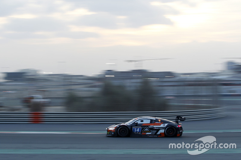 #14 Optimum Motorsport Audi R8 LMS: Joe Osborne, Flick Haigh, Ryan Ratcliffe, Christopher Haase