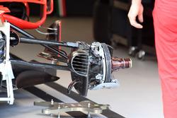 Ferrari SF70-H: Vorderrad-Aufhängung