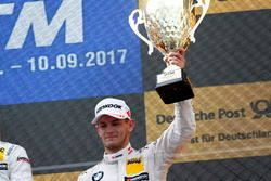 Podio: il terzo classificato Marco Wittmann, BMW Team RMG, BMW M4 DTM