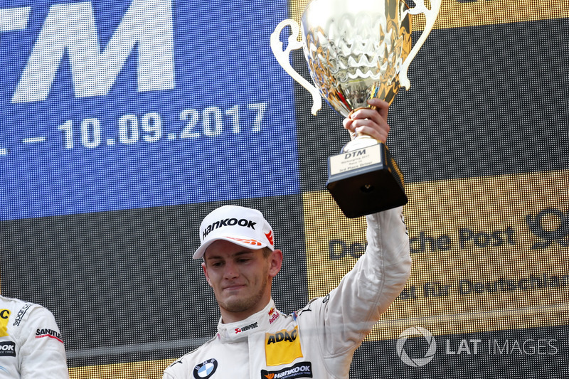 Podium: derde plaats Marco Wittmann, BMW Team RMG, BMW M4 DTM