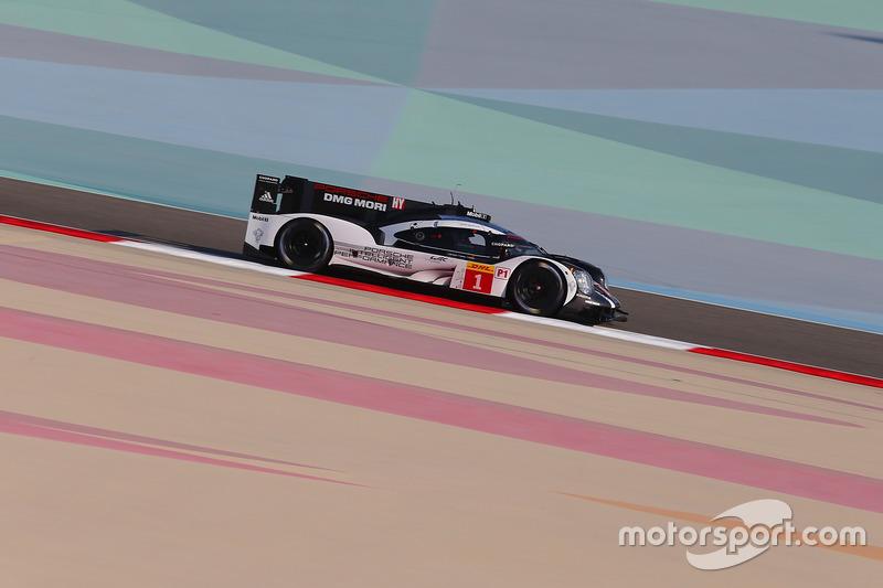 3. LMP1: #1 Porsche Team, Porsche 919 Hybrid: Timo Bernhard, Mark Webber, Brendon Hartley