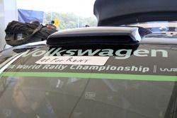 Volkswagen Polo WRC, Volkswagen Motorsport dettaglio dell'adesivo