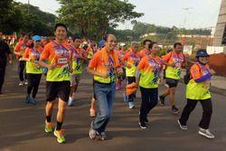 Rio Haryanto di acara Pertamina Eco Run
