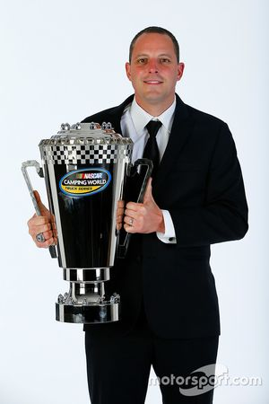 Truck-Champion 2016: Johnny Sauter, GMS Racing Chevrolet