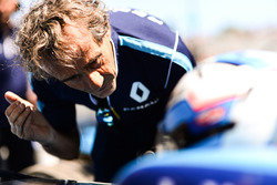 Nicolas Prost, Renault e.Dams, mit Vater Alain Prost