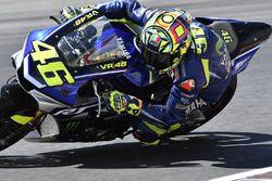 Valentino Rossi beim Yamaha VR46 Master Camp 2017