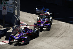 Jose Maria Lopez, DS Virgin Racing, ve Sam Bird, DS Virgin Racing, Robin Frijns, Amlin Andretti Form
