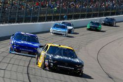 Brian Scott, Richard Childress Racing Chevrolet, Elliott Sadler, JR Motorsports Chevrolet
