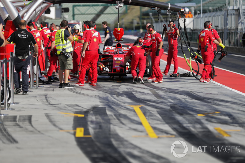 Charles Leclerc, Ferrari SF70H