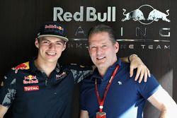 Max Verstappen, Red Bull Racing avec son père, Jos Verstappen
