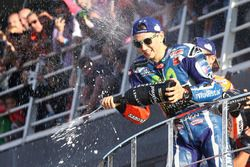 Podium : le vainqueur Jorge Lorenzo, Yamaha Factory Racing