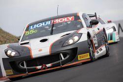 #55 RA Motorsports, Ginetta G55: Mike Simpson, Peter Paddon, Tim Berryman