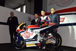 Fausto Gresini, Team Manager Federal Oil Gresini Moto2 e Jorge Navarro, Federal Oil Gresini Moto2