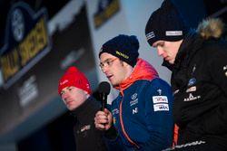 Thierry Neuville, Hyundai Motorsport, Ott Tänak, M-Sport, Jari-Matti Latvala, Toyota Racing