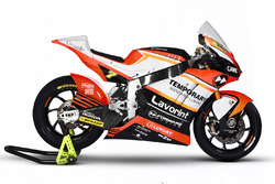 The bike of Lorenzo Baldassarri, Forward Racing
