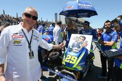 Kevin Schwantz, Alex Rins, Team Suzuki MotoGP get well soon