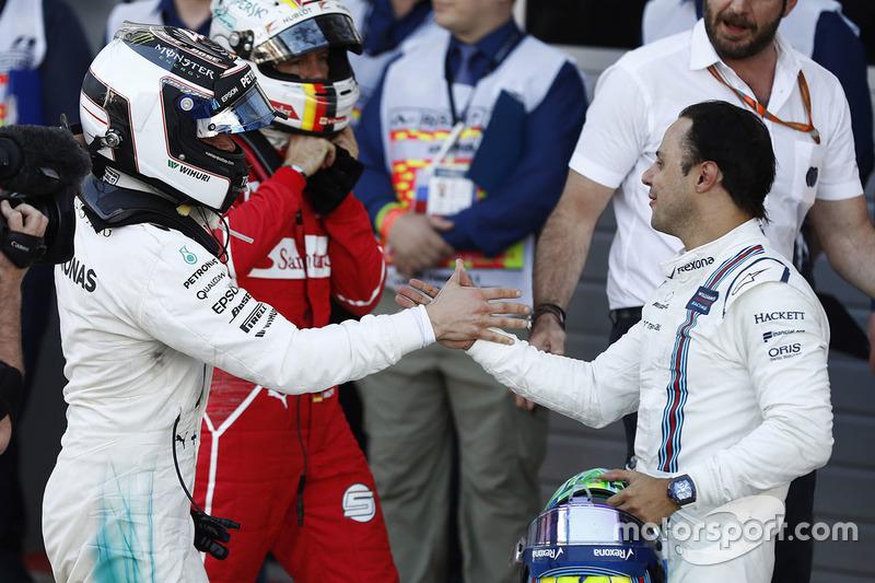 Valtteri Bottas, Felipe Massa, Sebastian Vettel