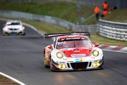 #30 Frikadelli Racing Team, Porsche 991 GT3-R: Klaus Abbelen, Sabine Schmitz, Andreas Ziegler