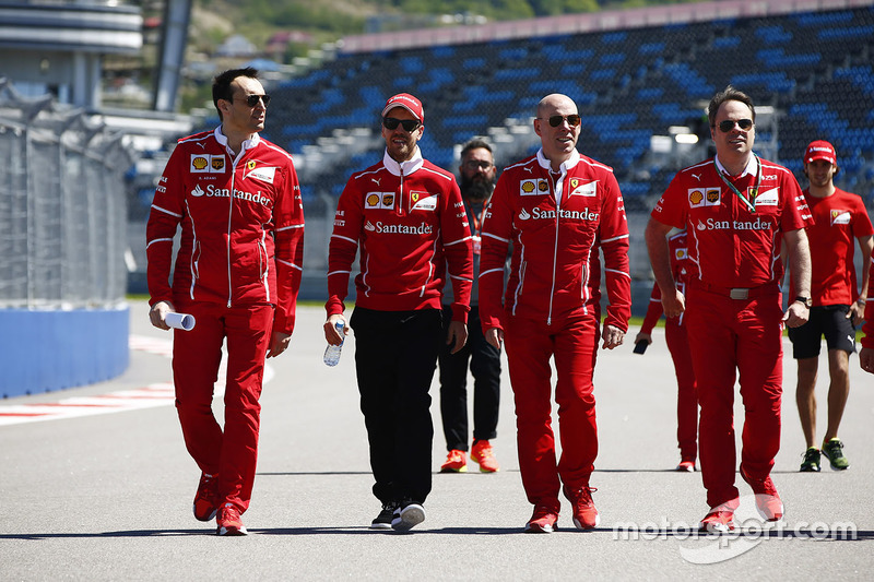 Sebastian Vettel, Ferrari, Jock Clear