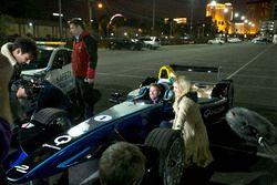 Sam Bird, DS Virgin Racing, is filmed in cockpit