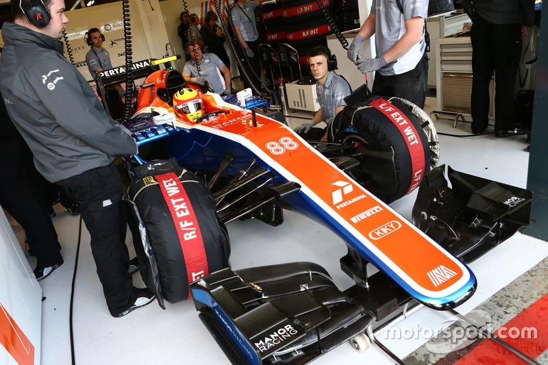 Rio Haryanto, garasi Albert Park, GP Australia 2016