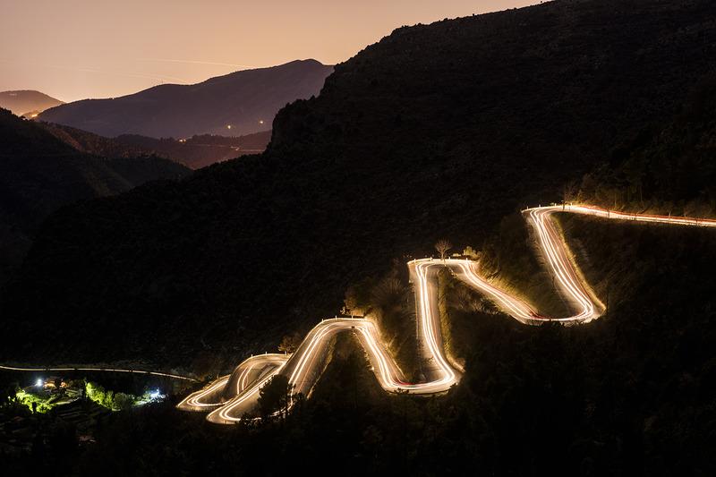 #4: Abendstimmung bei der Rallye Monte Carlo