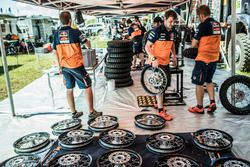 Teambereich Red Bull KTM Factory Racing