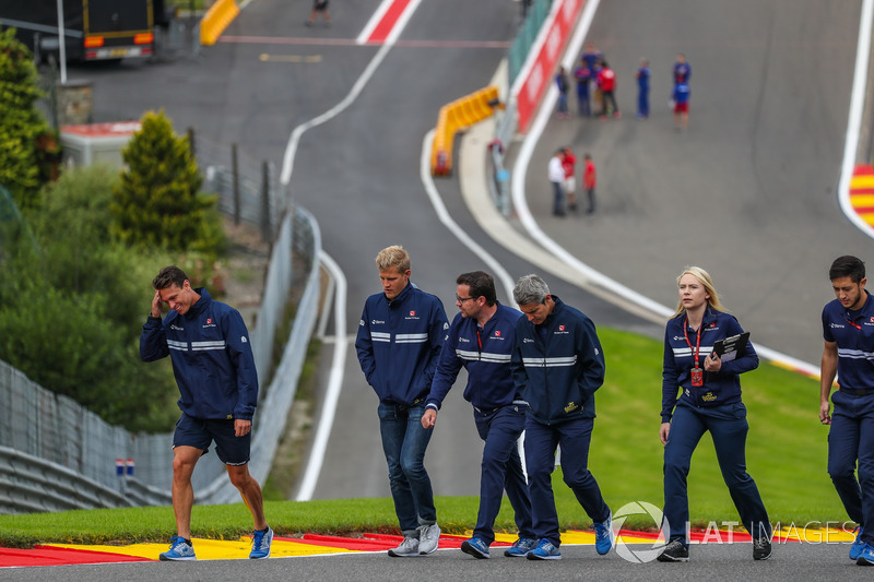 Marcus Ericsson, Sauber cammina lungo la pista