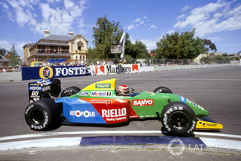 500th race: 1990 Australian Grand Prix