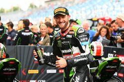 Tom Sykes, Kawasaki Racing décroche la pole position