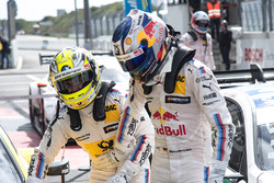 Race winner Timo Glock, BMW Team RMG, BMW M4 DTM, second place Marco Wittmann, BMW Team RMG, BMW M4