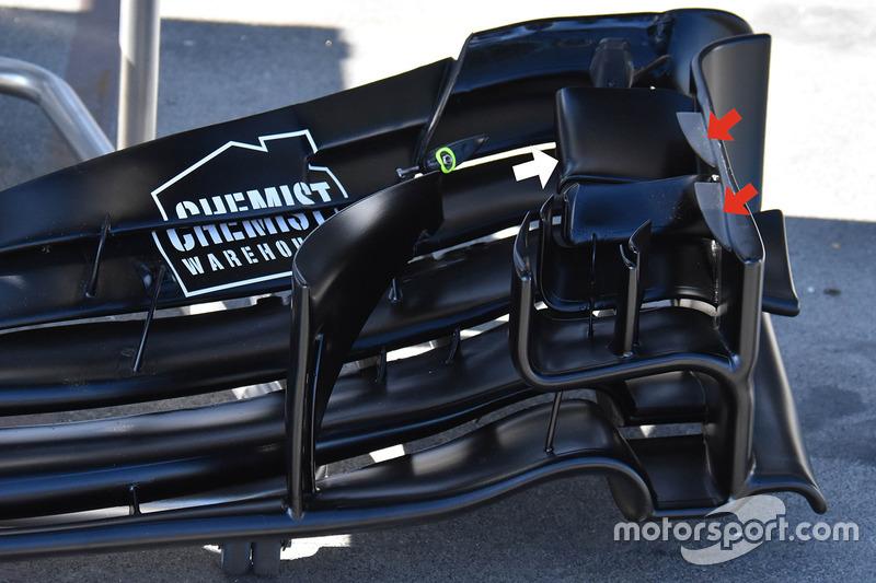Ala delantera Williams FW40