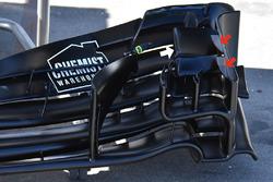 Aileron avant de la Williams FW40