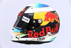 Le casque de Daniel Ricciardo, Red Bull Racing RB13