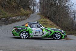 Fabrizio Andolfi Junior, Marco Menchini, Abarth 124 Rally