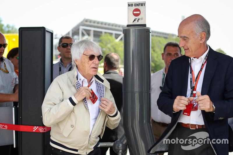 Bernie Ecclestone, Vicenta Aguilera, Presidente del consorcio Circuit de Catalunya