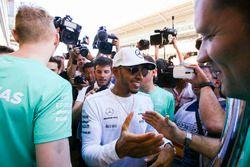 Racewinnaar Lewis Hamilton, Mercedes AMG F10