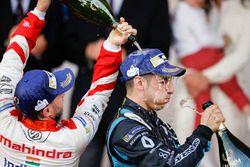 1. Sébastien Buemi, Renault e.Dams; 3. Nick Heidfeld, Mahindra Racing