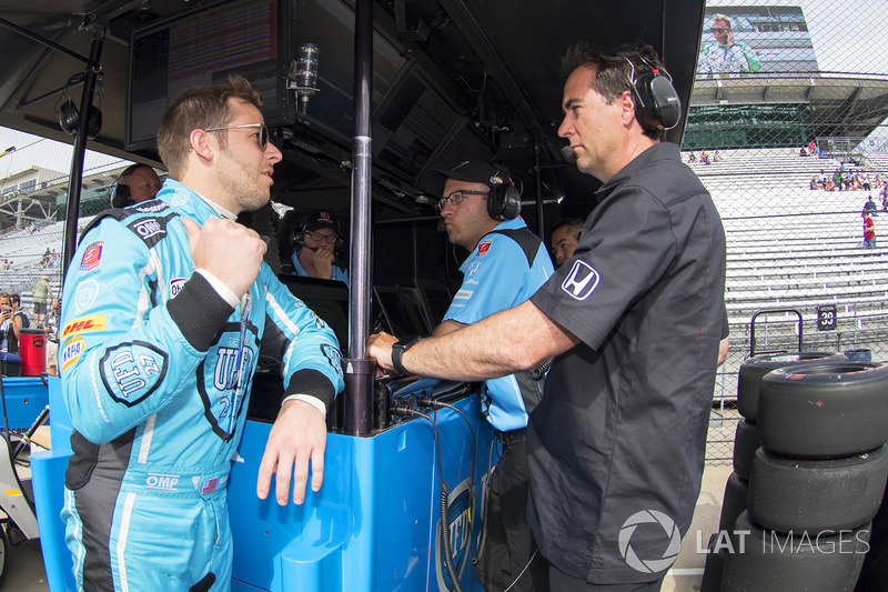 Marco Andretti, Andretti Autosport Honda with Bryan Herta