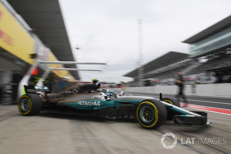 5. Valtteri Bottas, Mercedes-Benz F1 W08