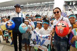 Lance Stroll, Williams en Felipe Massa, Williams met jonge fans